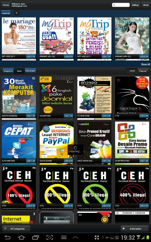Ebook Indonesia di Android (2/3)