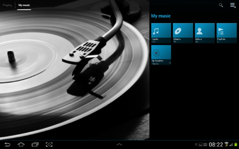Download Sony Music Player [Walkman.apk] untuk semua Android 4.0 (3/3)