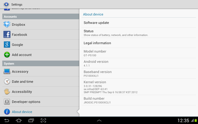 Upgrade Your Galaxy TAB 2 10.1 GT-P5100 to Jelly Bean (3/3)
