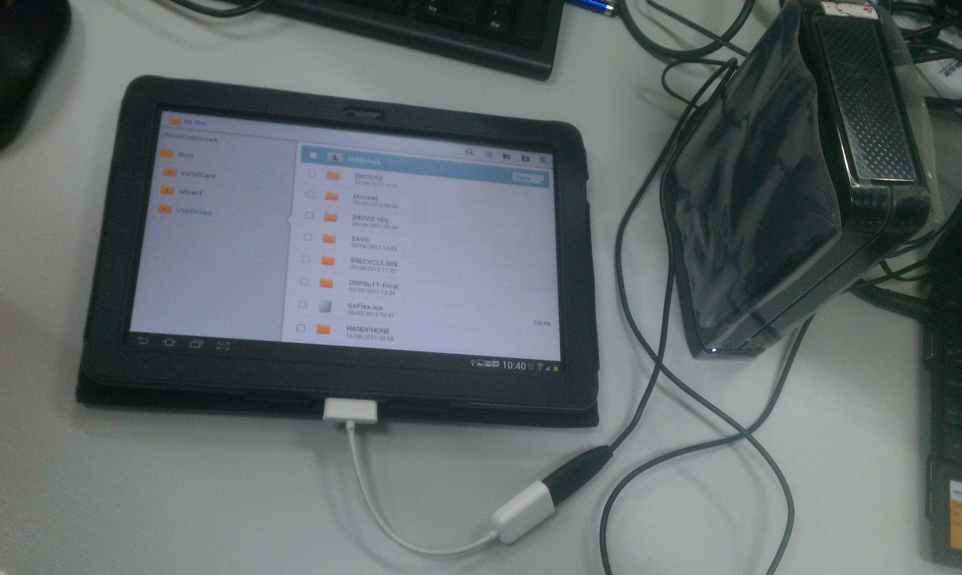 Nonton TV di Android Tablet
