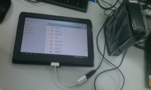 Gtab - USB OTG - USB HDD