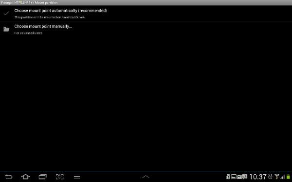 Menghubungkan HDD 2TB format NTFS dengan Galaxy Tab 2 10.1 (3/5)