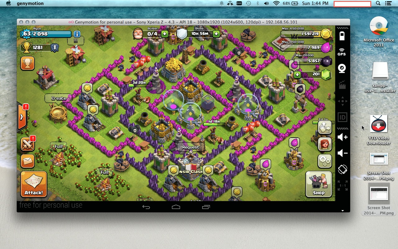 Playing Clash Of Clans On Your Macbook Maistropros Brain Spit